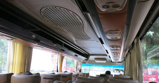 Interior shuttle bus Lippo Cikarang