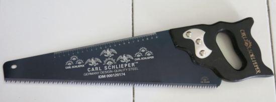 Cap Mata - merek alat pemotong yang sangat terkenal. Termasuk gergajinya