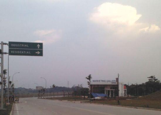 Belok kanan ke arah Taman Cibiru & Cibodas