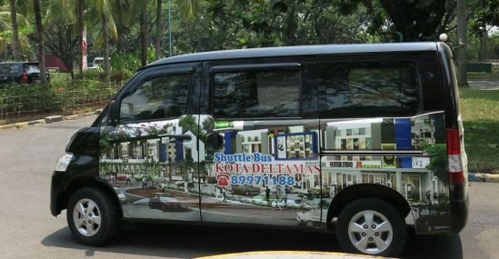 Shuttle bus kota Delta Mas