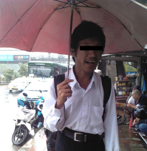 Penipu yang mengaku tidak punya uang untuk naik bus