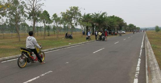 Drag race di Delta Mas, Cikarang