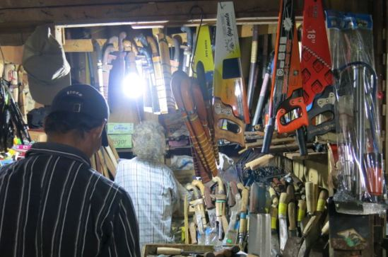 Toko golok dan pisau - Pasar Serang, Cikarang Selatan