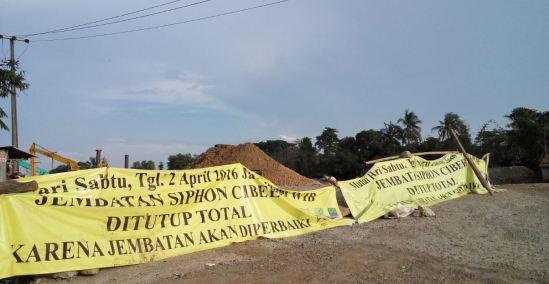 Jembatan Cibeet ditutup selama dua bulan untuk perbaikan